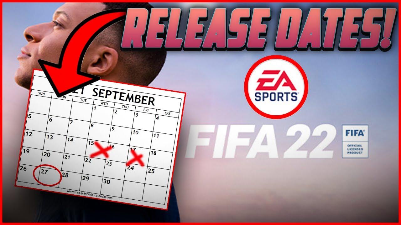 FIFA 22 IMPORTANT RELEASE DATES! WEB APP RELEASE DATE? EA ...